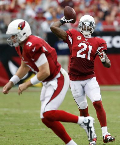 Patrick Peterson can sling it!