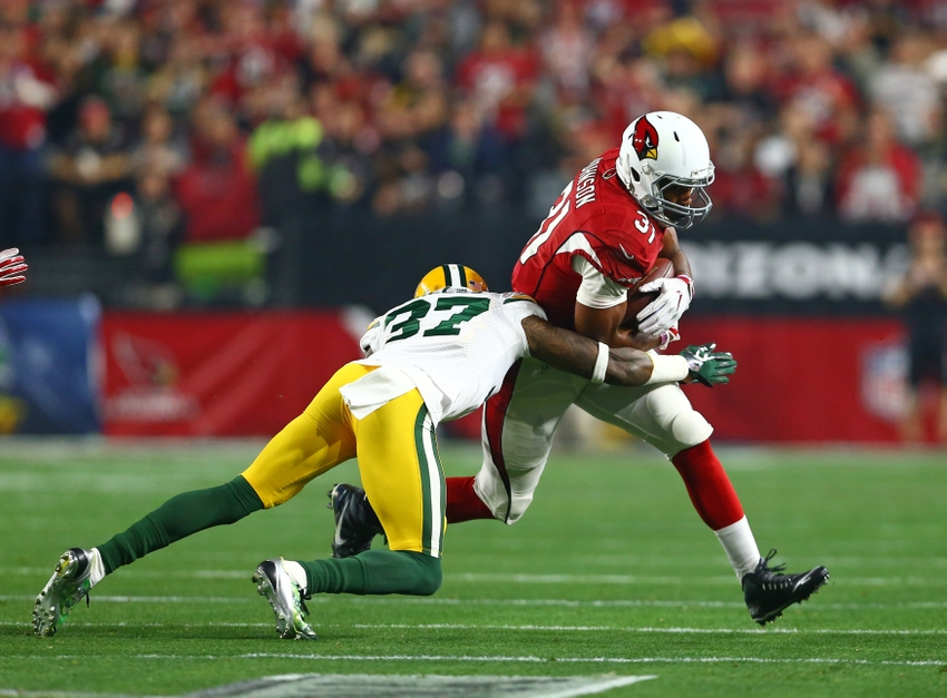 Sam-shields-david-johnson-nfl-nfc-divisional-green-bay-packers-arizona-cardinals