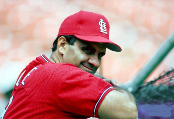 Joe Torre managed the St. Louis Cardinals for parts of six seasons and had the distinction of managing all three of the teams he played for.