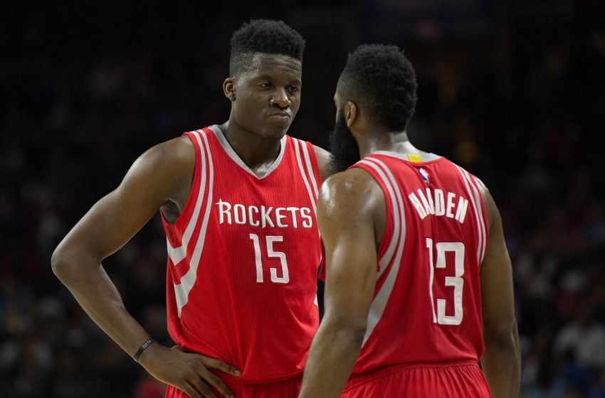 Image result for clint capela eric gordon
