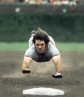 Pete Rose was banished from baseball for betting on the game. Steroid users should suffer the same fate.