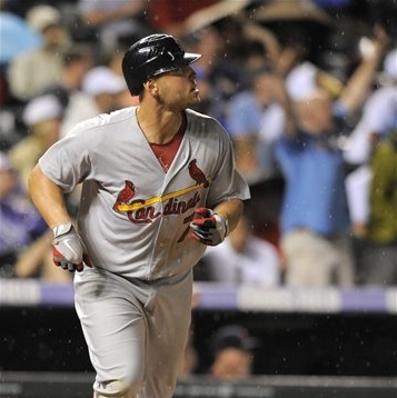 Matt Holliday Frustrates Rockies With 3-Run Bomb COURTESY: AP/Jack Dempsey