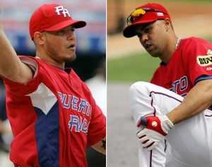 """Team Puerto Rico's Two Cardinals"""