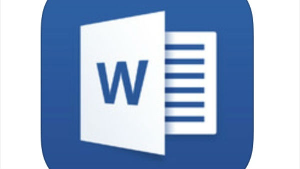 microsoft word zooms to top of free ios app chart