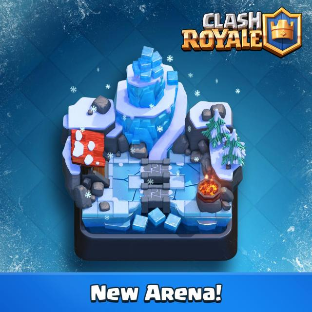 Clash Royale: New Cards & Arena Revealed