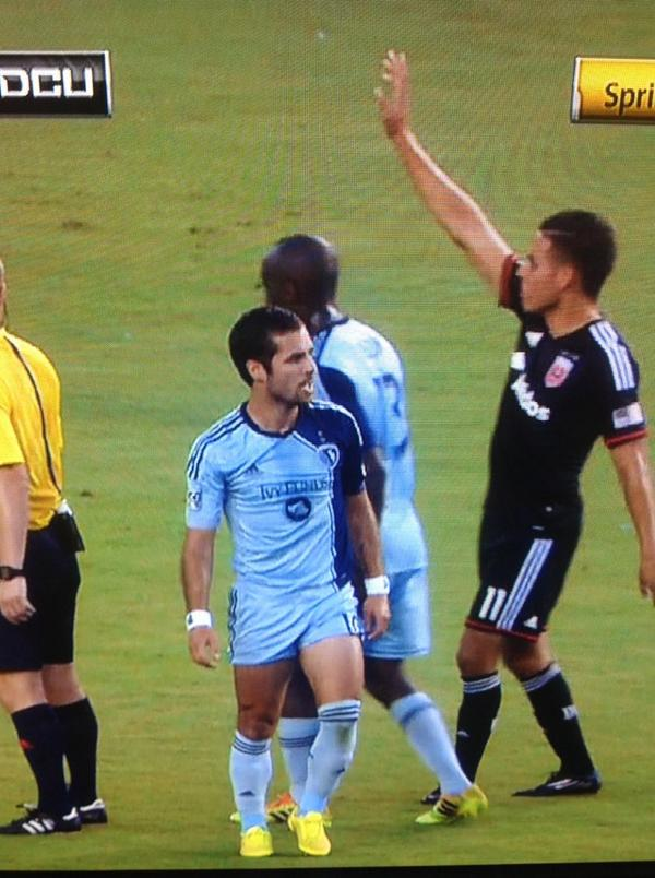 Sporting KC's Benny Feilhaber short shorts