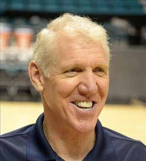 Mar 15, 2013; Las Vegas, NV, USA; Bill Walton at the Pac-12 basketball tournament at the MGM Grand arena. Mandatory Credit: Kirby Lee-USA TODAY Sports