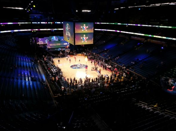 2014 NBA All-Star Game, Smoothie King Center, New Orleans, Louisiana