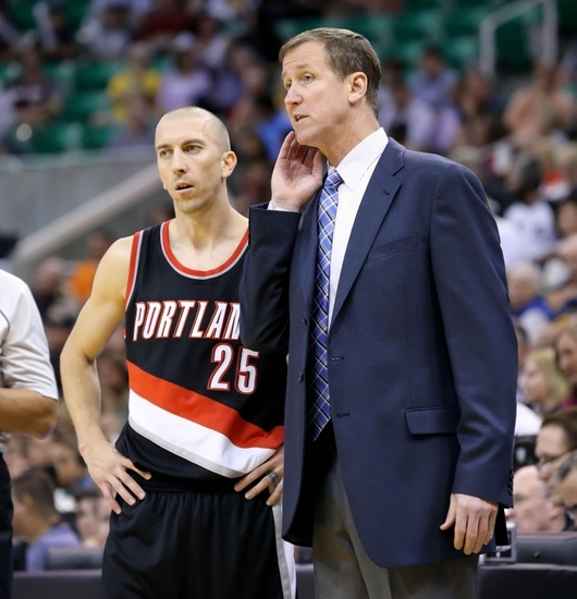 Portland Trail Blazers Coach: Trail Blazers Fall To Jazz, 105-109, In Preseason Rematch