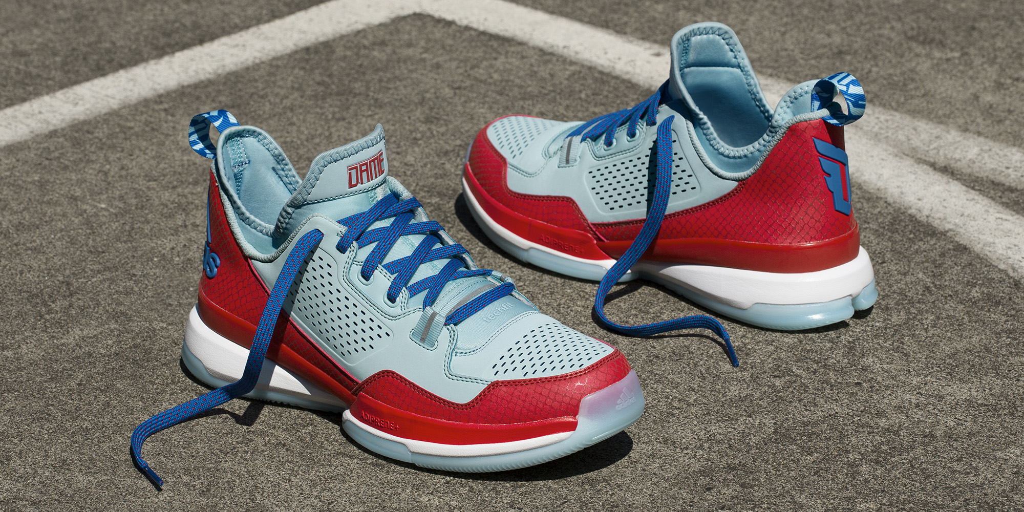 Buy damian lillard shoes blue   OFF35% Discounted 761e6e76783f