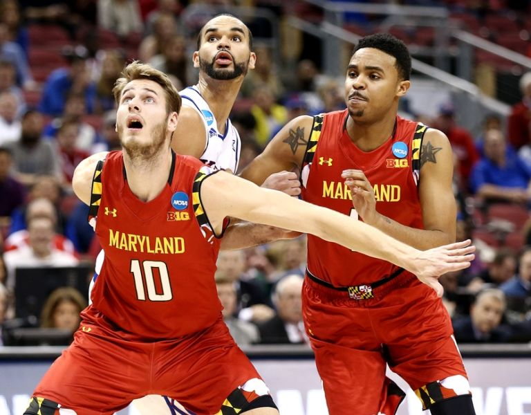 Perry-ellis-robert-carter-jake-layman-ncaa-basketball-ncaa-tournament-south-regional-kansas-vs-maryland-768x600