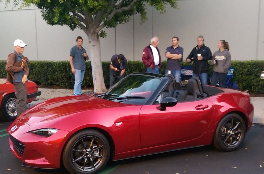 cars and coffee 2016 mazda mx 5. Black Bedroom Furniture Sets. Home Design Ideas