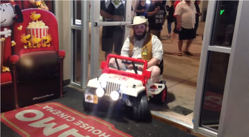 this jurassic park power wheels build spared no expense
