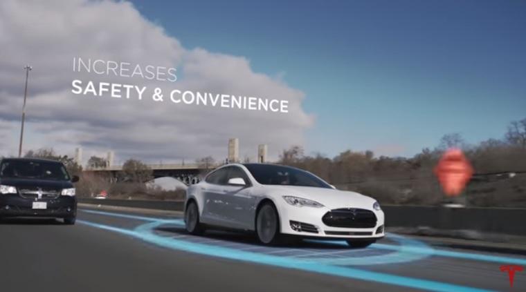 Tesla Model S Autopilot Showcased in New Video