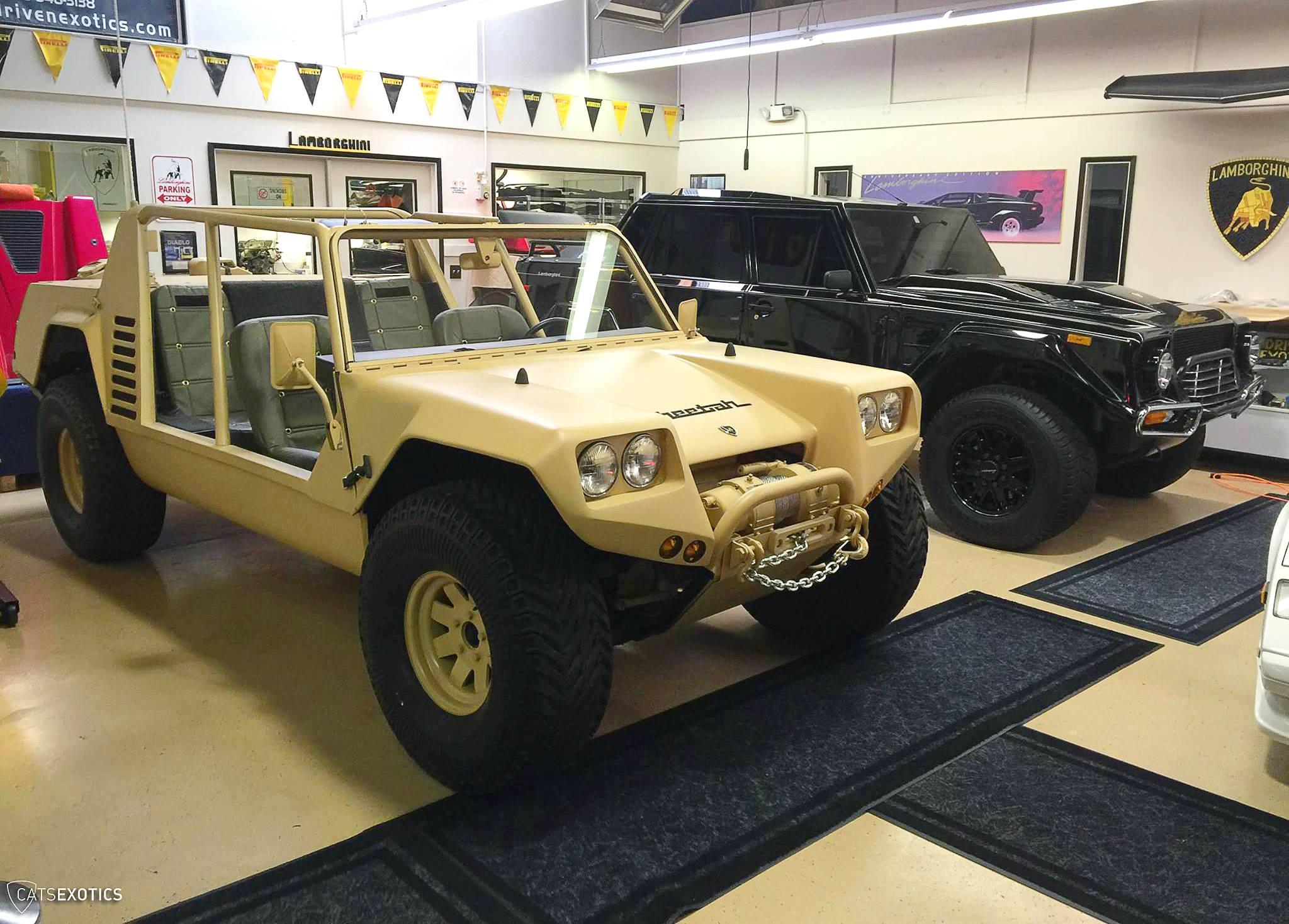 Lamborghini Cheetah Prototype Found Amp Restored Like New