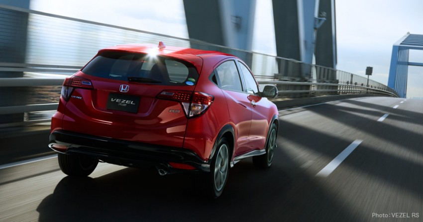 2017 honda hr v hybrid rs is sporty jdm spec crossover. Black Bedroom Furniture Sets. Home Design Ideas