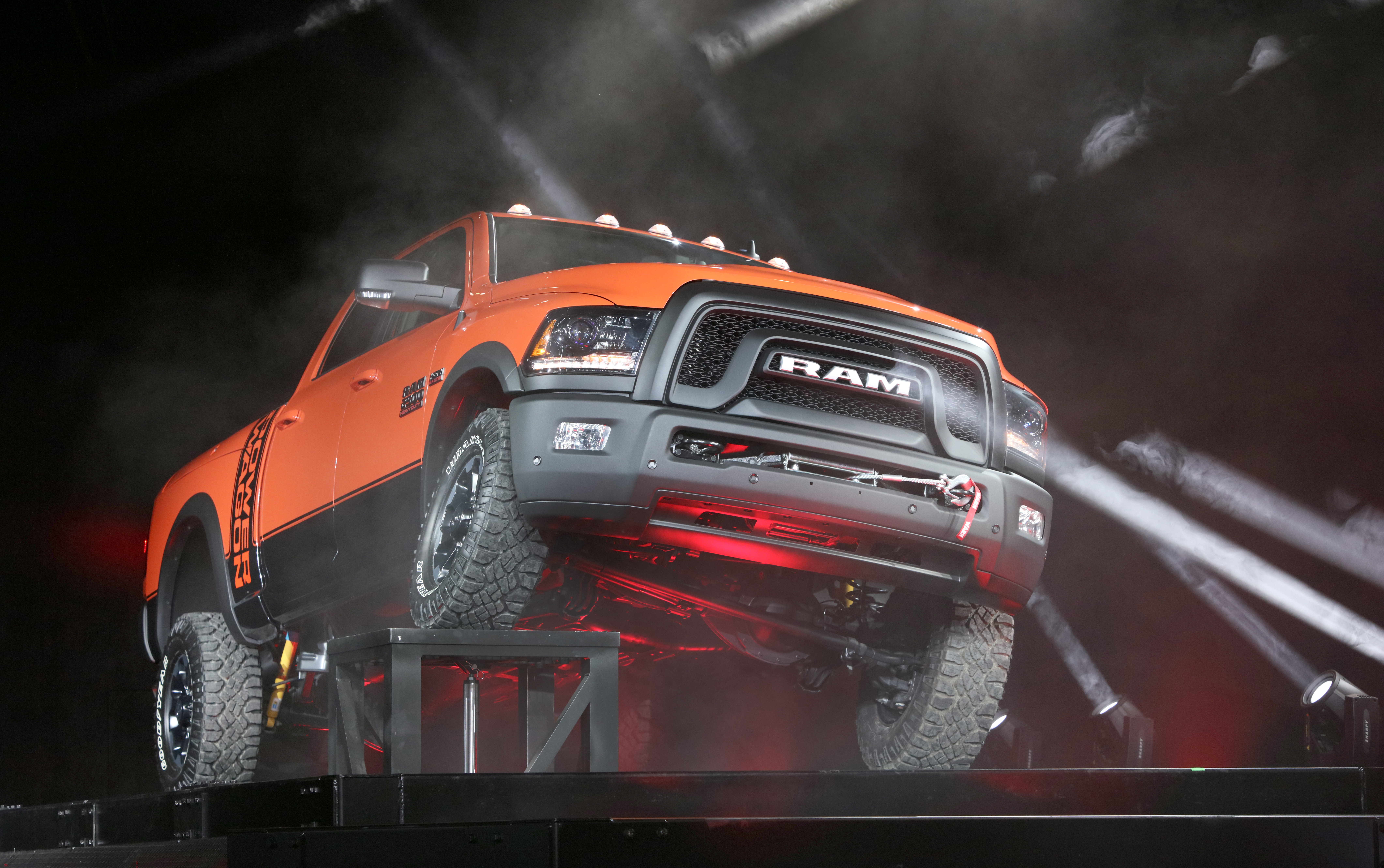 chicago the 2017 ram power wagon is introduced at the chicago auto show the - Dodge Truck 2017
