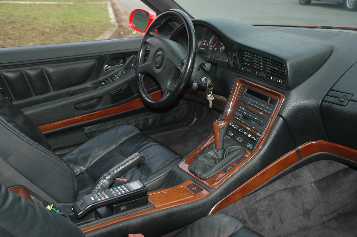 BMW 850CSi 1994 Hellrot Red 8Series Bring A Trailer