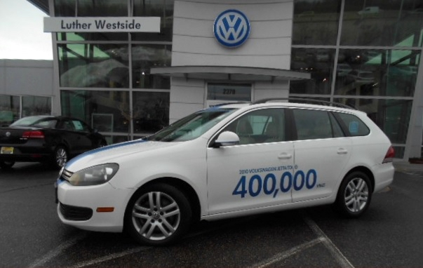 VW Jetta TDI: Wagon With 400,000 Miles Is For Sale