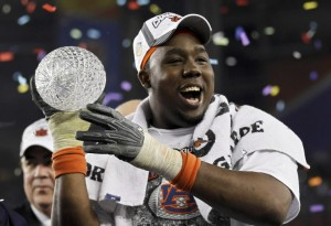 Auburn Defensive Tackle Nick Fairley