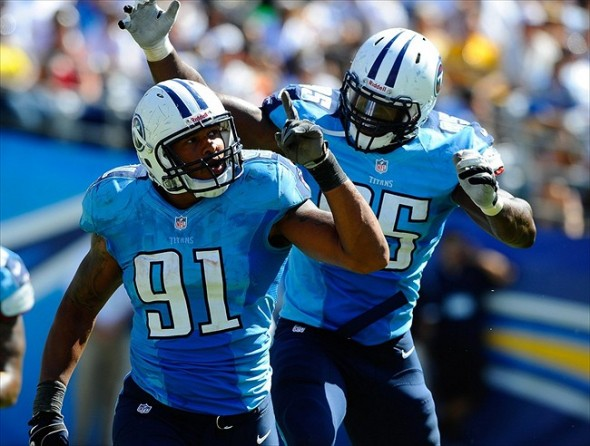 Tennessee Titans defensive ends