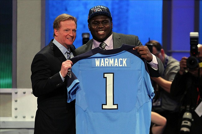 Chance Warmack Tennessee Titans 2013 NFL Draft