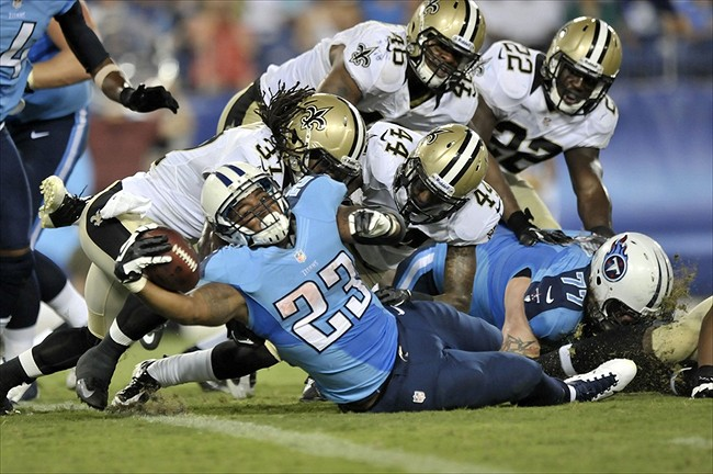 Jamie Harper: Tennessee Titans Could Use Upgrade at No. 3 RB.