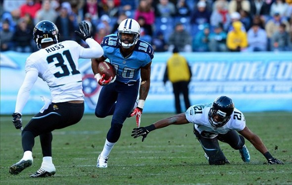Kenny Britt: Knee Could Affect Tennessee Titans WR through 2013 Season