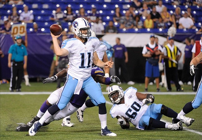 Tennessee Titans Practice Squad: Rusty Smith, Two Others Added