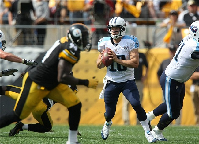 Jake Locker: Titans Win In Pittsburgh, But QB Still a Concern