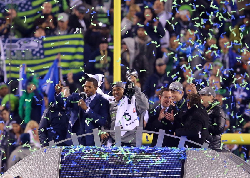 Image result for seattle seahawk superbowl