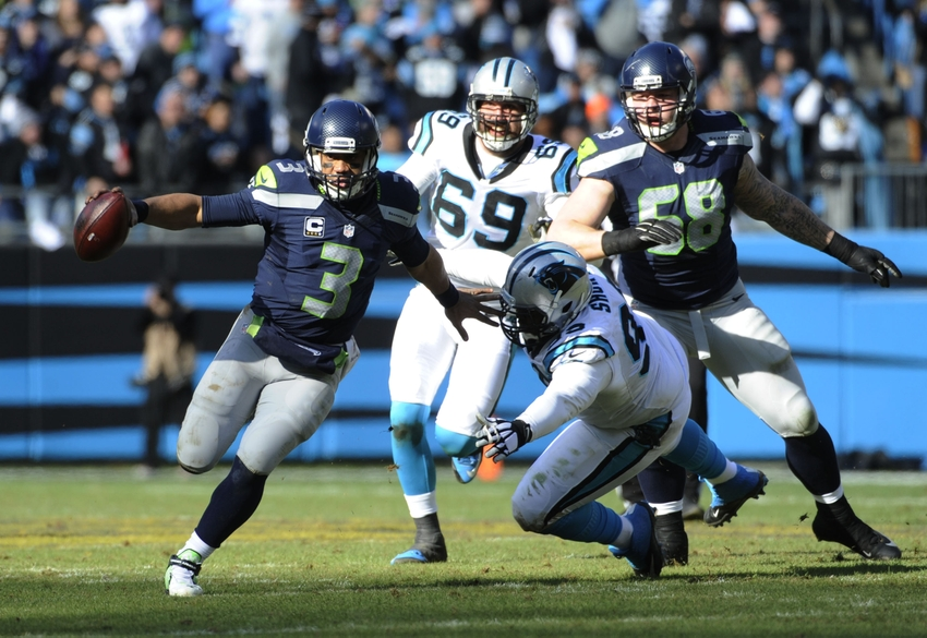 Kawann-short-jared-allen-russell-wilson-nfl-nfc-divisional-seattle-seahawks-carolina-panthers