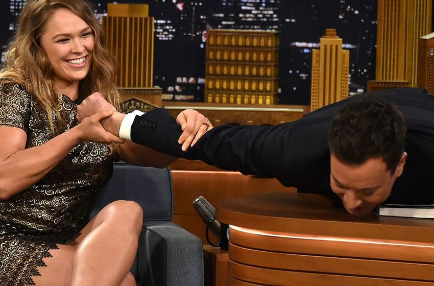 Ronda Rousey to become first MMA fighter to host Saturday Night Live