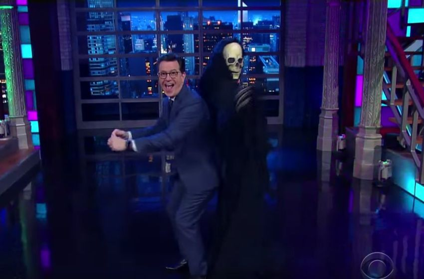 Image result for stephen colbert and trumpcare