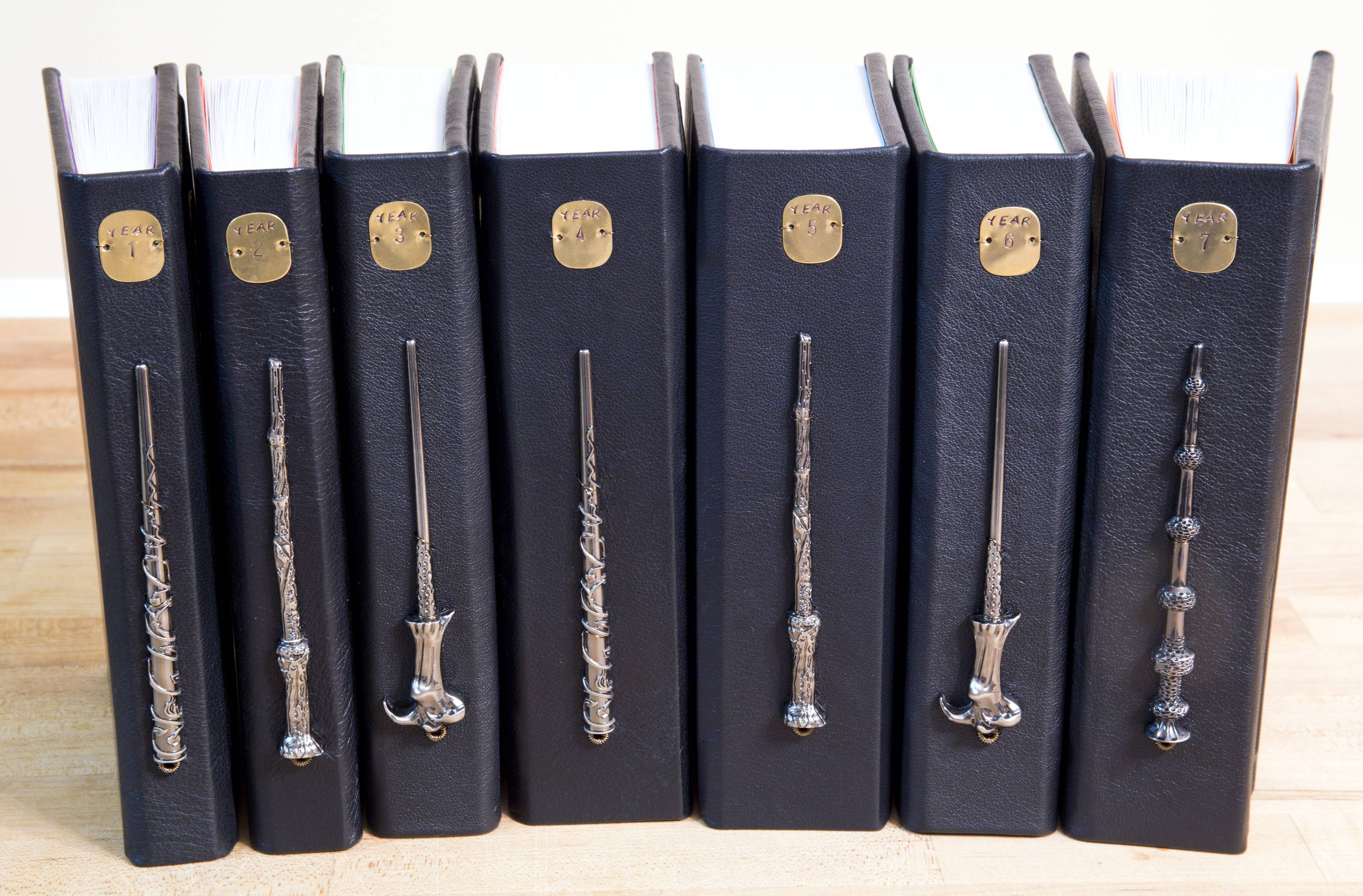 Harry Potter Book Set Original Covers : Awesome harry potter book set with horcrux bookmarks