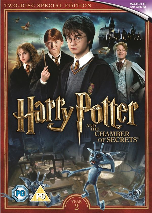 Artwork Revealed For New Harry Potter Bluray Dvd Boxsets