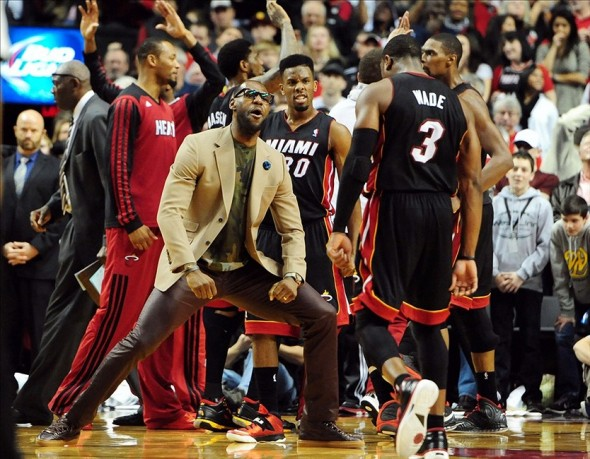 NBA: Miami Heat at Portland Trail Blazers