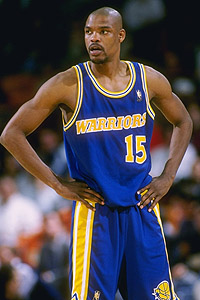 Latrell Sprewell Warriors