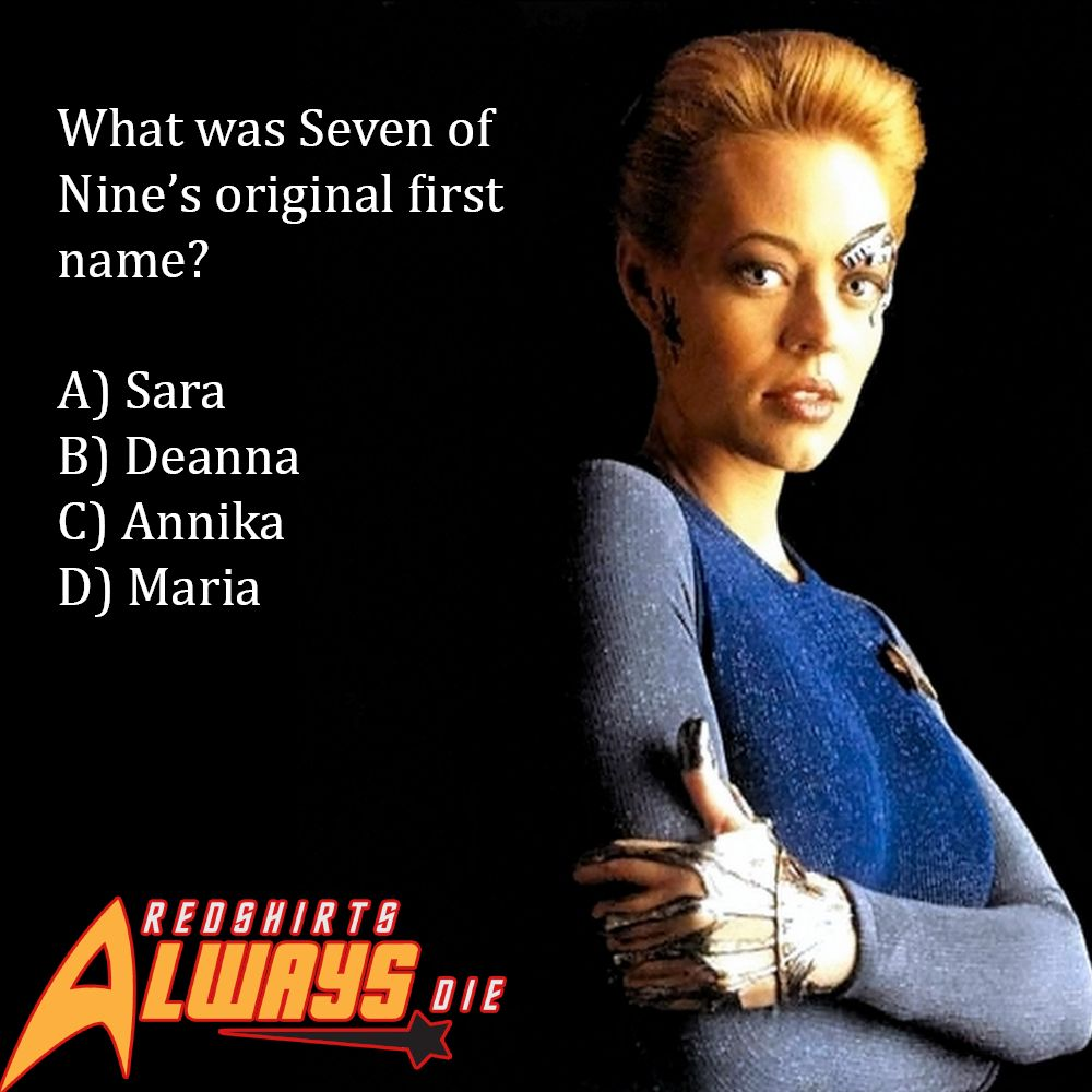 Star Trek Trivia: What Was Seven of Nine's First Name?