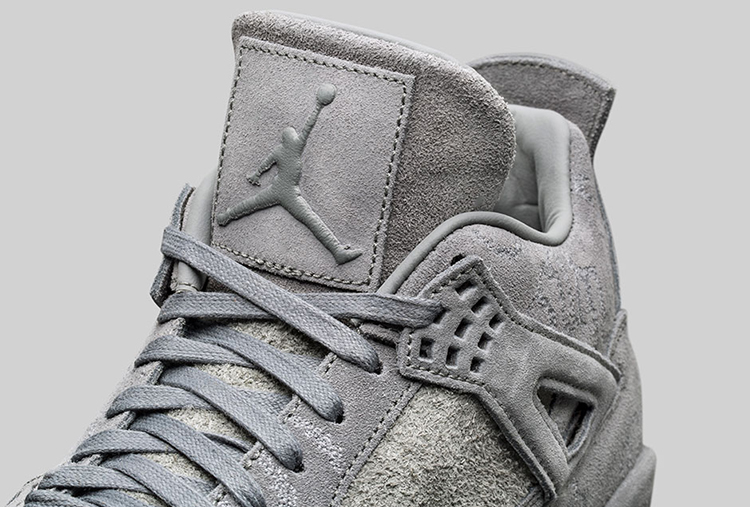 Cheap Air Jordan 4 IV Retro KAWS SZ 10.5 Cool Grey Suede Glow In Dark 930155-003
