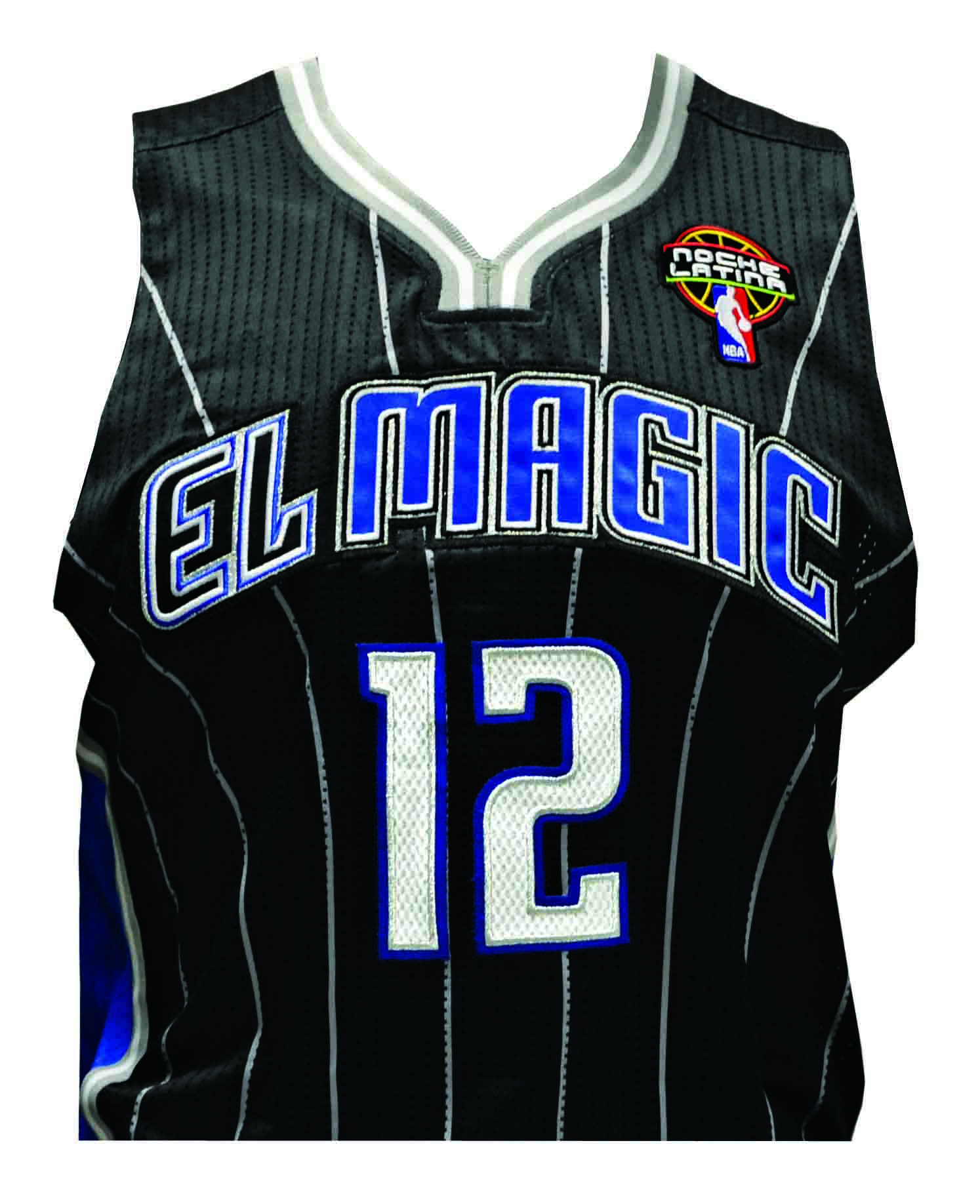 """Orlando Magic to Wear First-Ever """"El Magic"""" Jerseys During Noche Latina on March"""