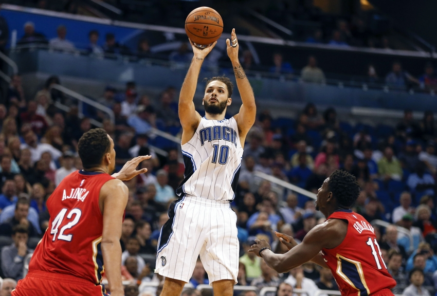 Alexis-ajinca-evan-fournier-jrue-holiday-nba-new-orleans-pelicans-orlando-magic