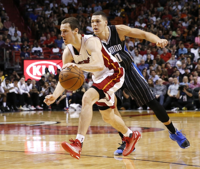 Goran Dragic, Miami Heat, Aaron Gordon, Orlando Magic