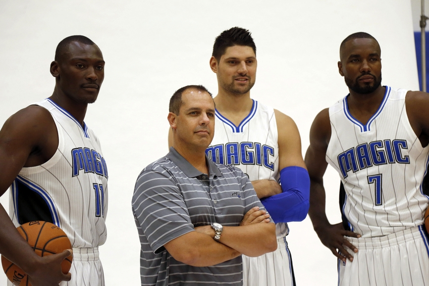 9566925-bismack-biyombo-serge-ibaka-nikola-vucevic-frank-vogel-nba-orlando-magic-media-day