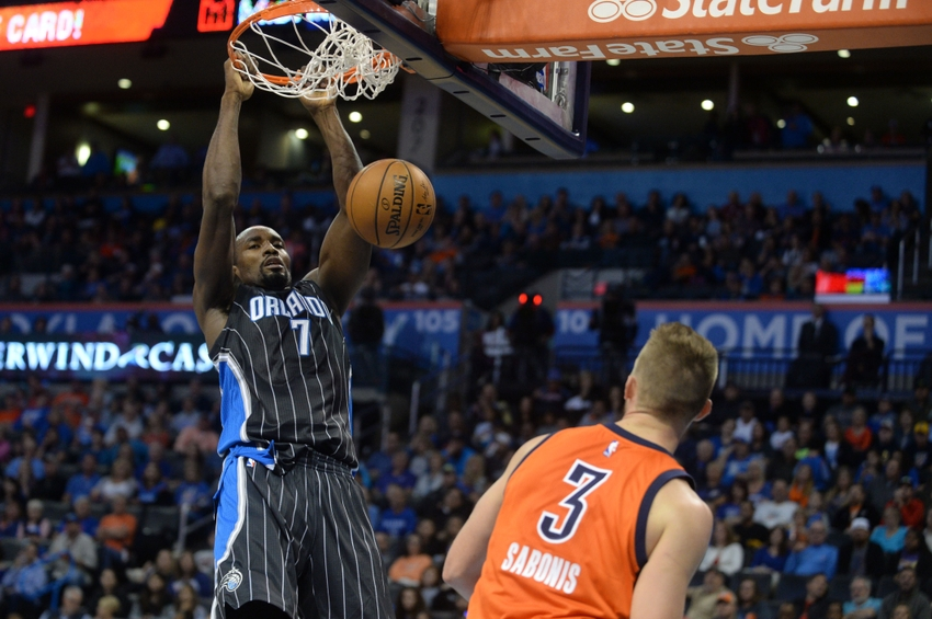 Serge Ibaka, Orlando Magic, Domantas Sabonis, Oklahoma City Thunder