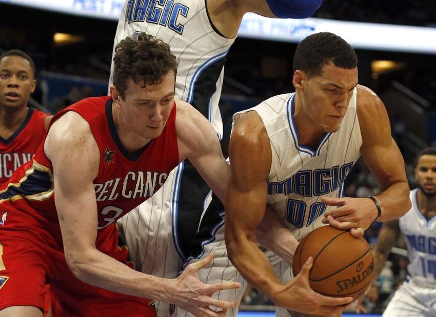 Aaron Gordon, Orlando Magic, Omer Asik, New Orleans Pelicans