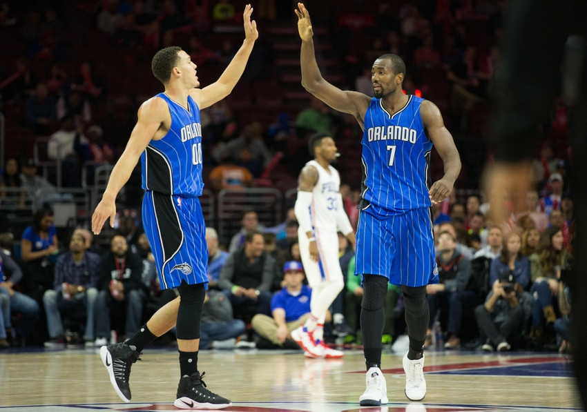 Aaron Gordon, Serge Ibaka, Orlando Magic
