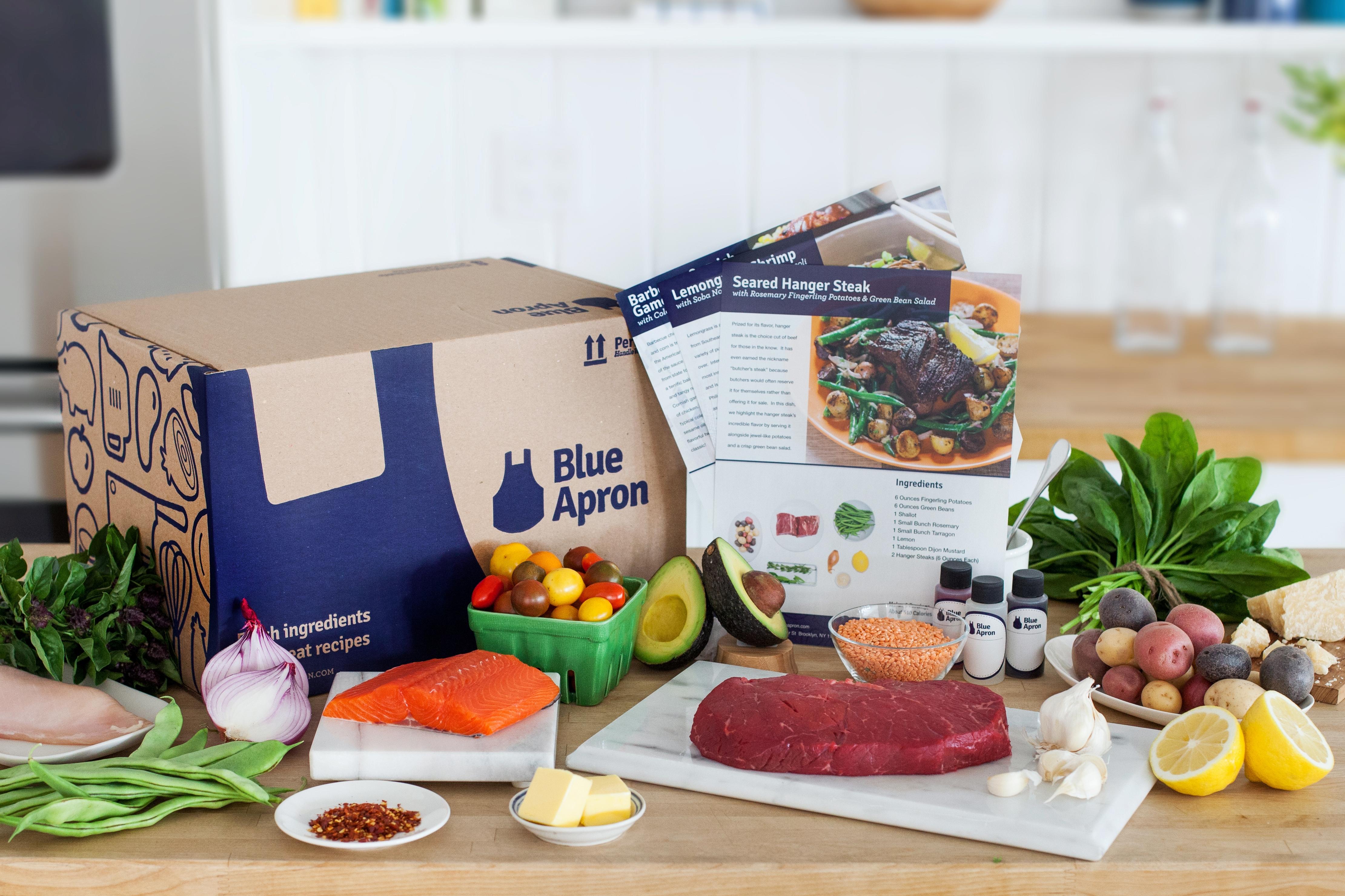 Blue apron application - Blue Apron Product Shot
