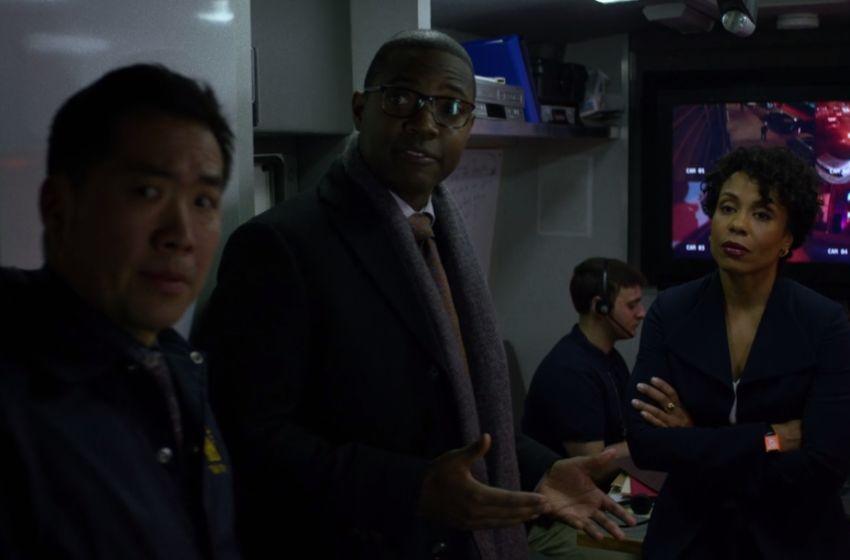 Inspector Ridley- Luke Cage