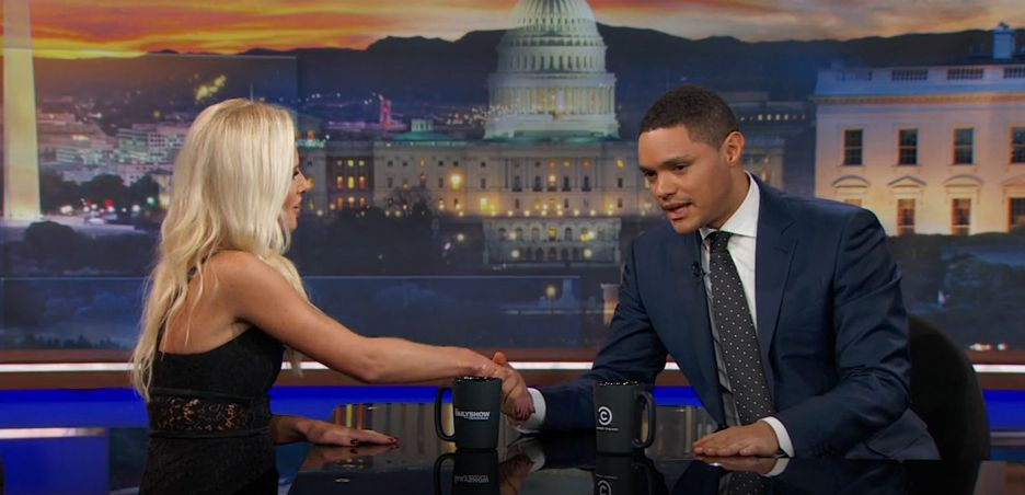 Tomi Lahren and Trevor Noah Circled the Civil Discourse Drain